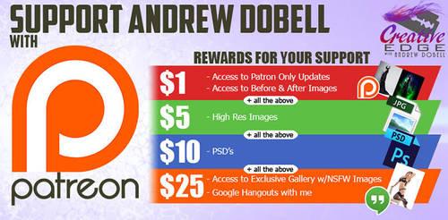 Patreon Rewards Graphic by AndrewDobell