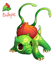 Pokemon Fusion: Bulbpie by C-Puff