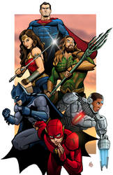 Justice League by Mickey377