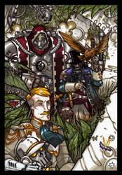 Triumvirate by NicolasRGiacondino