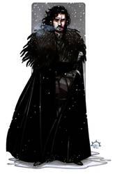 MiniCharacters - Jon Snow by NicolasRGiacondino
