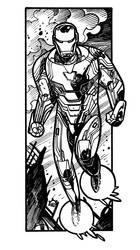 Infinity War - Iron Man by NicolasRGiacondino