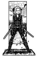 Infinity War - Black Widow by NicolasRGiacondino