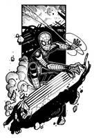 Infinity War - Spider-man by NicolasRGiacondino
