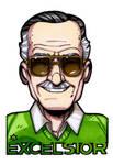 Stan 'The Man' Lee by NicolasRGiacondino