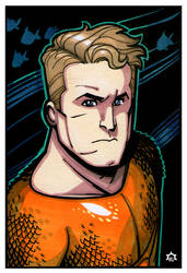 Aquaman by NicolasRGiacondino