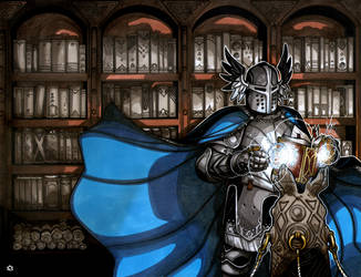 Gallant Knight by NicolasRGiacondino
