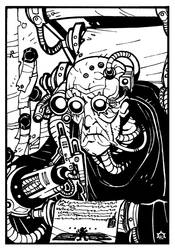Emperor's Scribe by NicolasRGiacondino