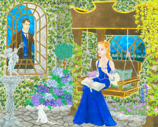 June in the Garden by ElizabethPhillips