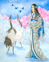 Izanami in Contemplation by ElizabethPhillips
