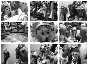 dolls by ChiquitaLoca