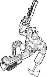Optimus Prime by glovestudios