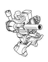 Megatron Individual Element by glovestudios