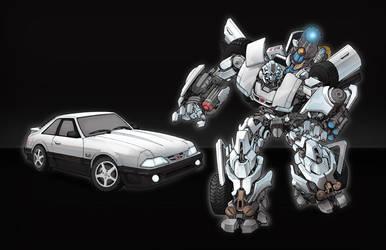 Mustang Transformer by glovestudios