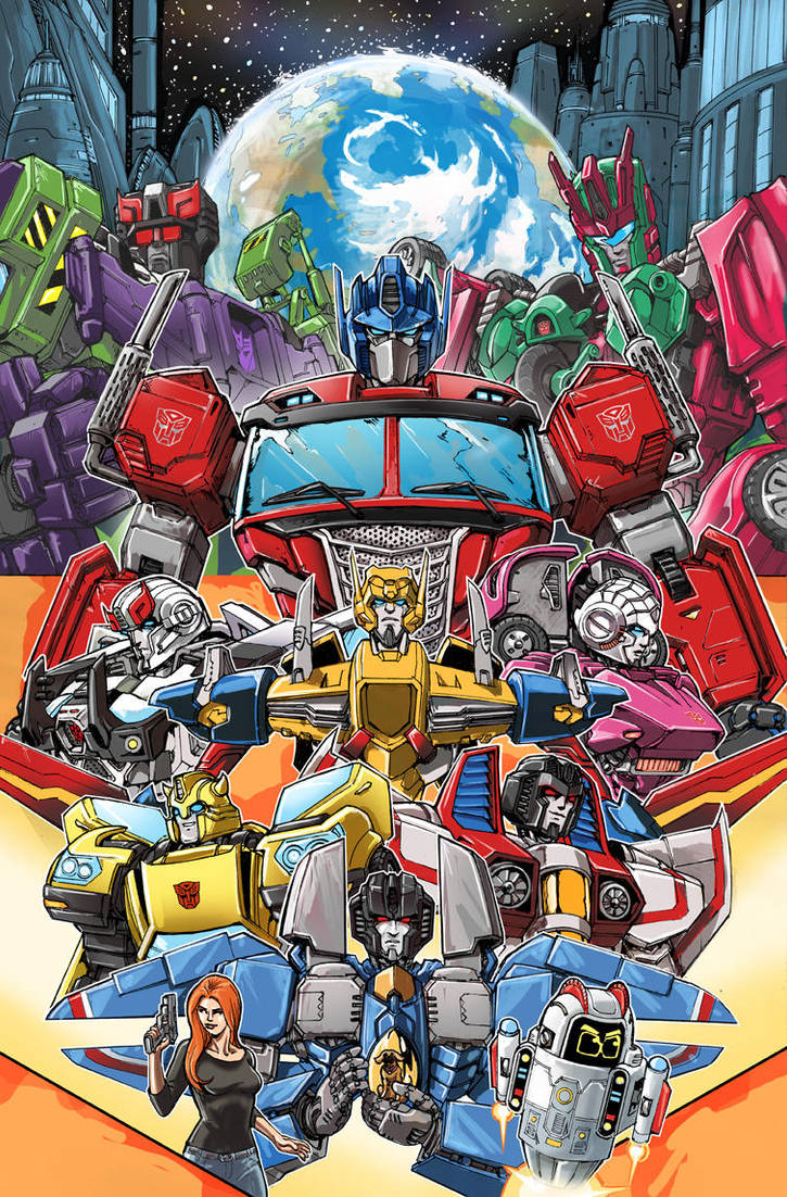 Optimus Prime 25 Cover by glovestudios