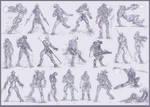 Covenant sketchdump 4: Elite Edition by The-Chronothaur