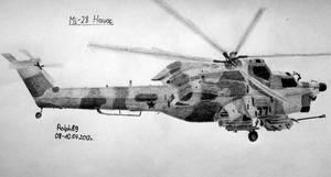 Mi-28 Havoc by Ralph1989