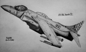 McDonnell Douglas AV-8B Harrier-II by Ralph1989
