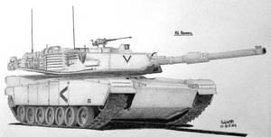 M1 Abrams by Ralph1989