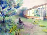 Songe au jardin... by maroe