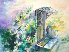 Descente au jardin 2 by maroe