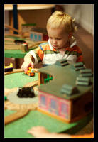 Jonah and the trains by pdpardue