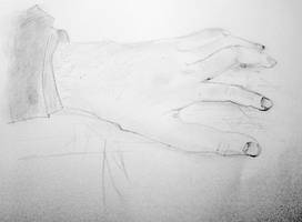 Drawing Hand by pdpardue