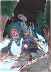 Random colored illustration #1 by ValeriaP