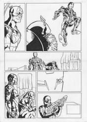 Iron and Cap 2/4 by ValeriaP