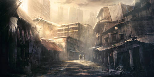 Kabe City inside by korbox