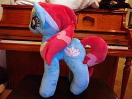 Lotus Spa Pony Plushie by StarDragon102