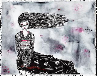 Hell Girl by WeirdSwirl
