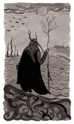Thirteen crows by WeirdSwirl