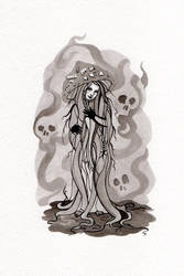 Poisonous Witch by WeirdSwirl