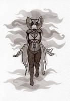 Cruel bat by WeirdSwirl