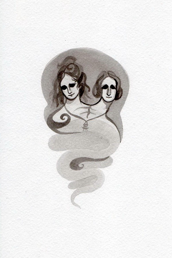 Double Mary Shelley by WeirdSwirl