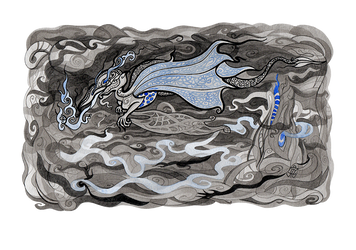 Dragon by WeirdSwirl