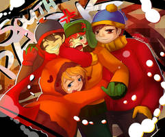 South Park Bois by aaynra