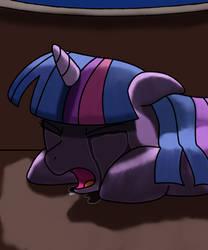Profoundly sad twilight by Jurassic-Dragon