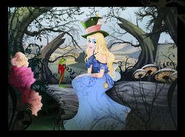 Burton's Alice In Wonderland by Nippy13