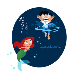 Ariel and her Prince by Nippy13