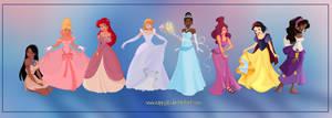 Disney Girls by Nippy13