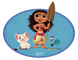 Moana Chibi by Nippy13