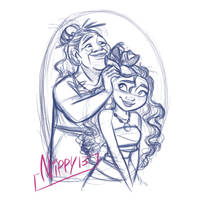 Moana and Grandma by Nippy13