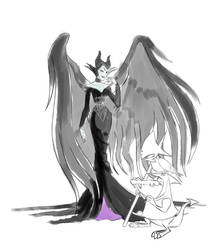 Maleficient WIP by Nippy13