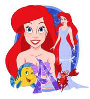 Ariel glitter by Nippy13