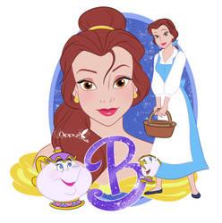 Belle glitter by Nippy13
