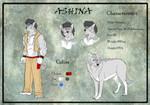 Ashina Ref by XxFenrierxX