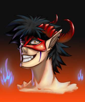 Mr. Demon by XxFenrierxX