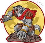 Pretorian Werewolf by XxFenrierxX